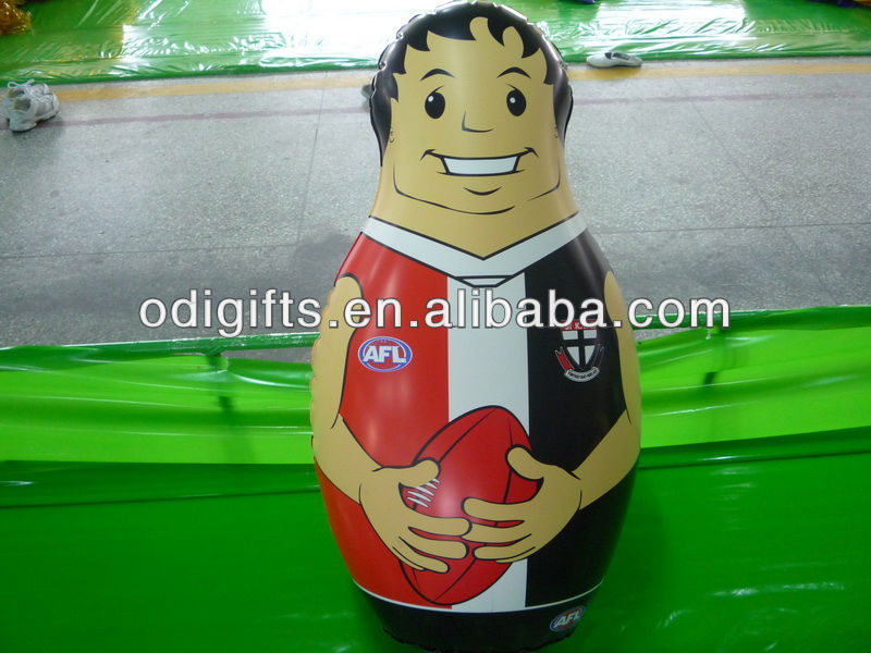inflatable custom bop bag