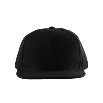 high quality black 100 acrylic 6 panel snapback hat template psd