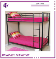 BD-1556 China Wholesale Metal Bed Frame Used Metal Single Bed