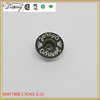 DJB77008 Wholesale new brass metal jeans button and rivets 17mm with logo engraved