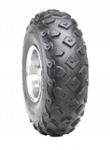 Duro HF246 Sport Knobby Tire - Front - 19x7x8 , Position: Front, Tire Size: 19x7x8, Rim Size: 8, Tire Ply: 2, Tire Type: ATV/UTV, Tire Application: All-Terrain 31-24608-197A