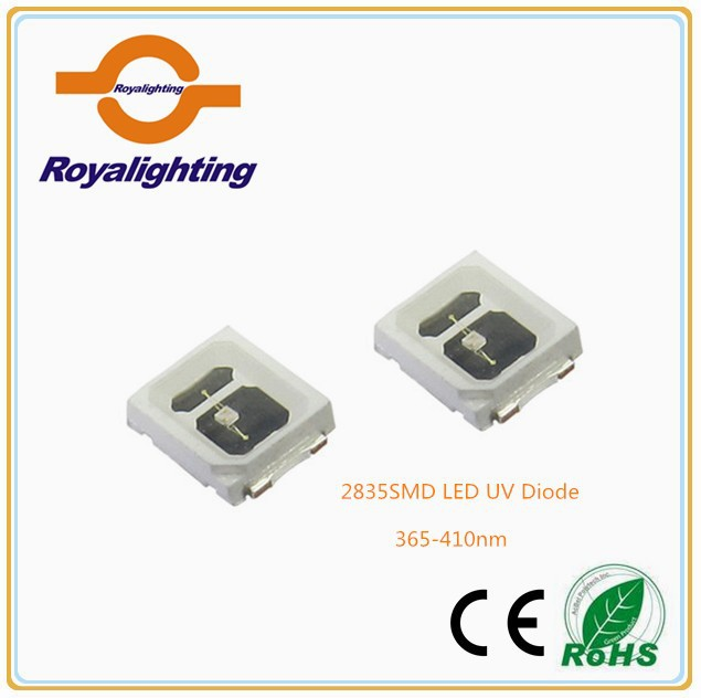 Factory price 5050smd LED datasheet 0.2W 60mA 150mA LED diode uv 365nm 375nm 380nm