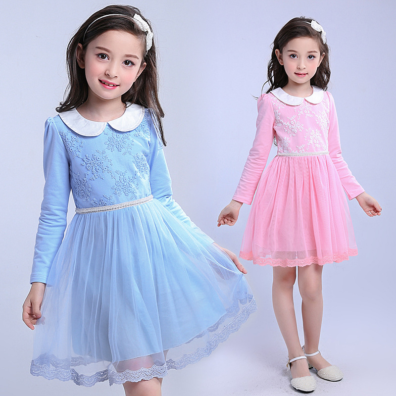 aa6119d15e53 Wholesale Kids Party Wear Frocks Birthday Casual Dress For Girl Of 7 Years  Old