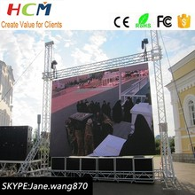 P6 Rental Stage Pixel Pitch 6mm LED screen/Full Color LED Display Outdoor