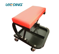 mechanic creeper seat with tool mechanic stool shelf steel work stool repair car tool