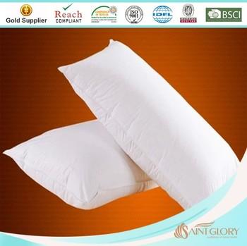 Cheap Wholesale Pillows Polyester Microfiber Filling
