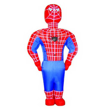 Customize Inflatable Super Heroes Spider Costume Inflatable Cartoon Man