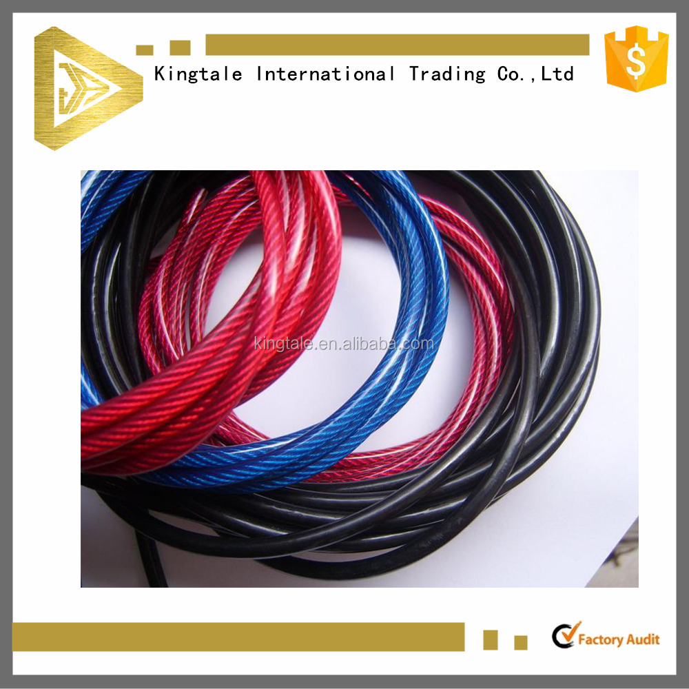 Best Quality Best price here Nylon Coated Stainless Steel Wire Rope