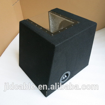 speaker box of 12inch subwoofer bandpass from JLD Audio