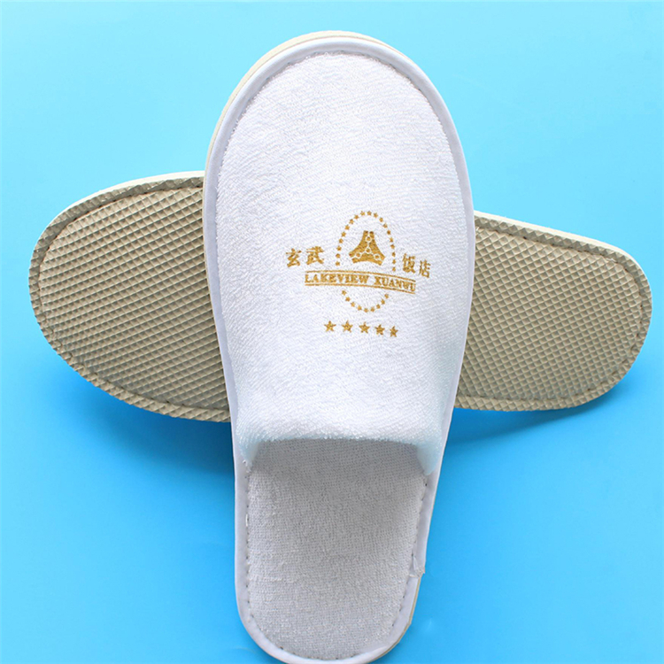 Disposable embroidery Personalized Wholesale cheap fashion soft hospital medical slippers
