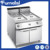 Hotel Restaurant Kitchen Equipment Heated Holding Cabinet Food Warmer with Two Doors