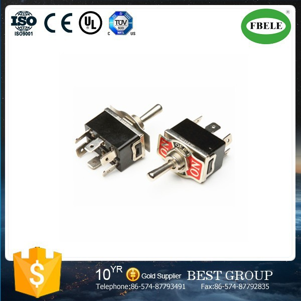 KN3(C)-223AP 9 pin toggle switch mini toggle switch 3a 250vac 3 position toggle switch(FBELE)