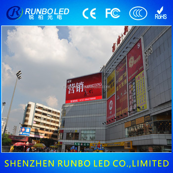 P6 Outdoor Full Color Led Advertising Screen Price