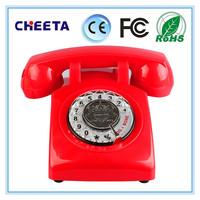retro style cordless phone intercom phone with telephone