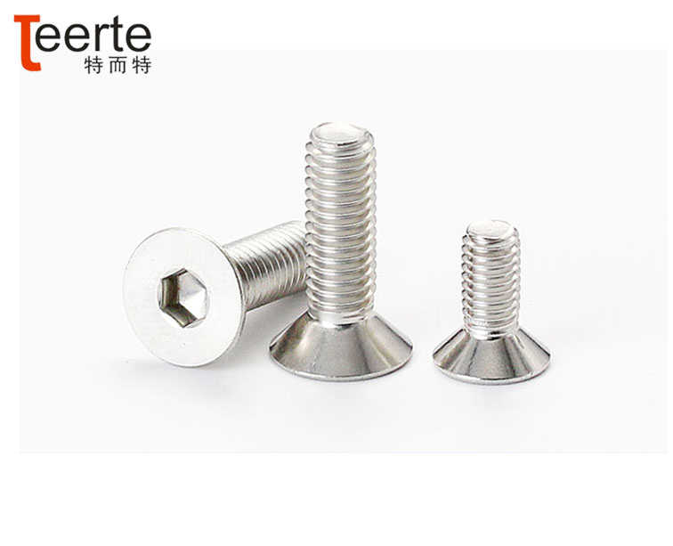 DIN 7991furniture screw stainless steel hex socket countersunk head screw