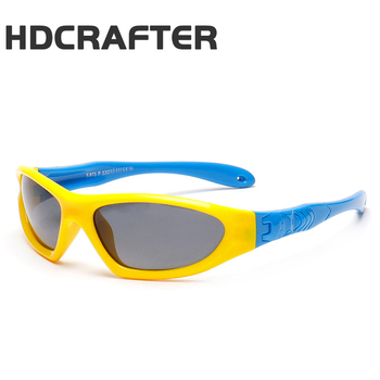 464a9679c0c HDCRAFTER Boys Polarized Sunglasses Kids Girl Flexible Frame Sun Glasses  Safety Outdoor Goggles Anti UVA Child