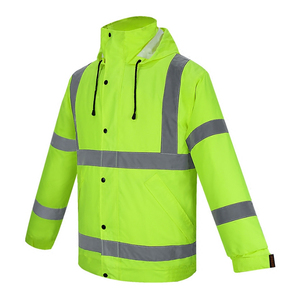 High visibility winter outdoor safety reflective workwear/uniform