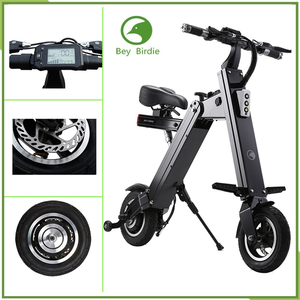 New style electric folding scooter Green electic <strong>city</strong> bike wholesale