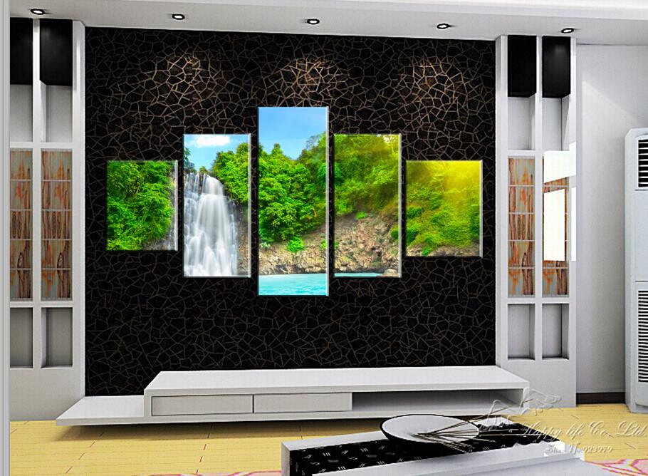 5 moderne malerei heim dekorative kunst. Black Bedroom Furniture Sets. Home Design Ideas