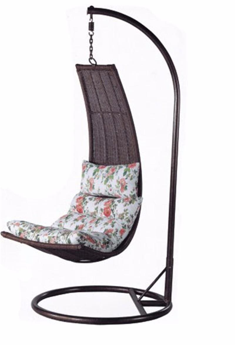 Resin Wicker Patio Banana Shaped Swing Chairs China