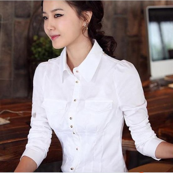 White sexy womens office jackets
