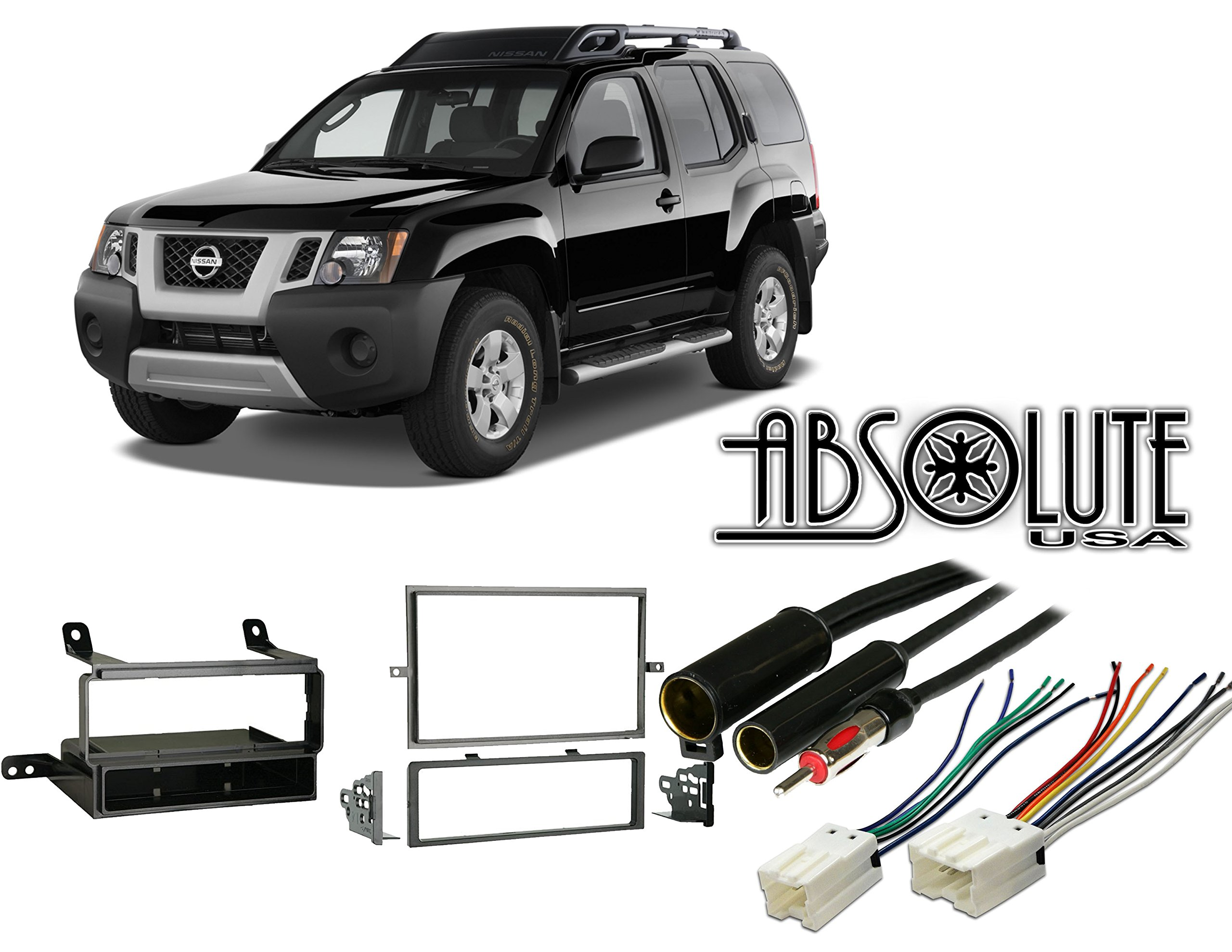 Buy Carxtc Stereo Install Dash Kit Nissan Sentra 04 05 2004 2005 Frontier Factory Wiring Absolute Radiokitpkg11 Fits Xterra 2008 Multi Din Harness Radio