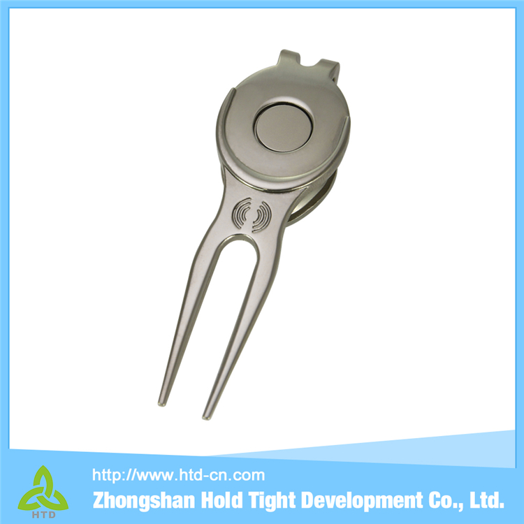 China Wholesale High Quality magnetic ball marker and golf divot repair tool