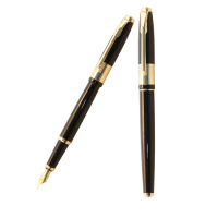 Lingmo Luxury High Quality Metal Fountain Pen with Fine Nib