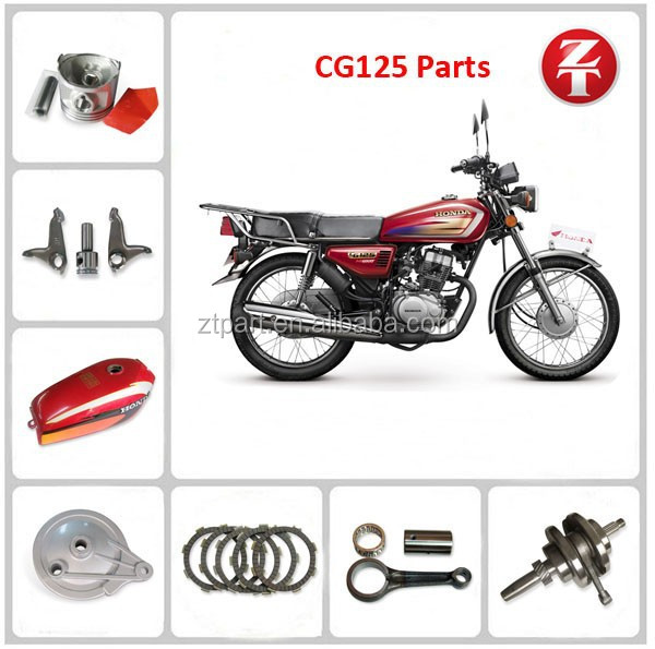 Hotselling China High Quality CG125 Parts For Honda Motorcycle