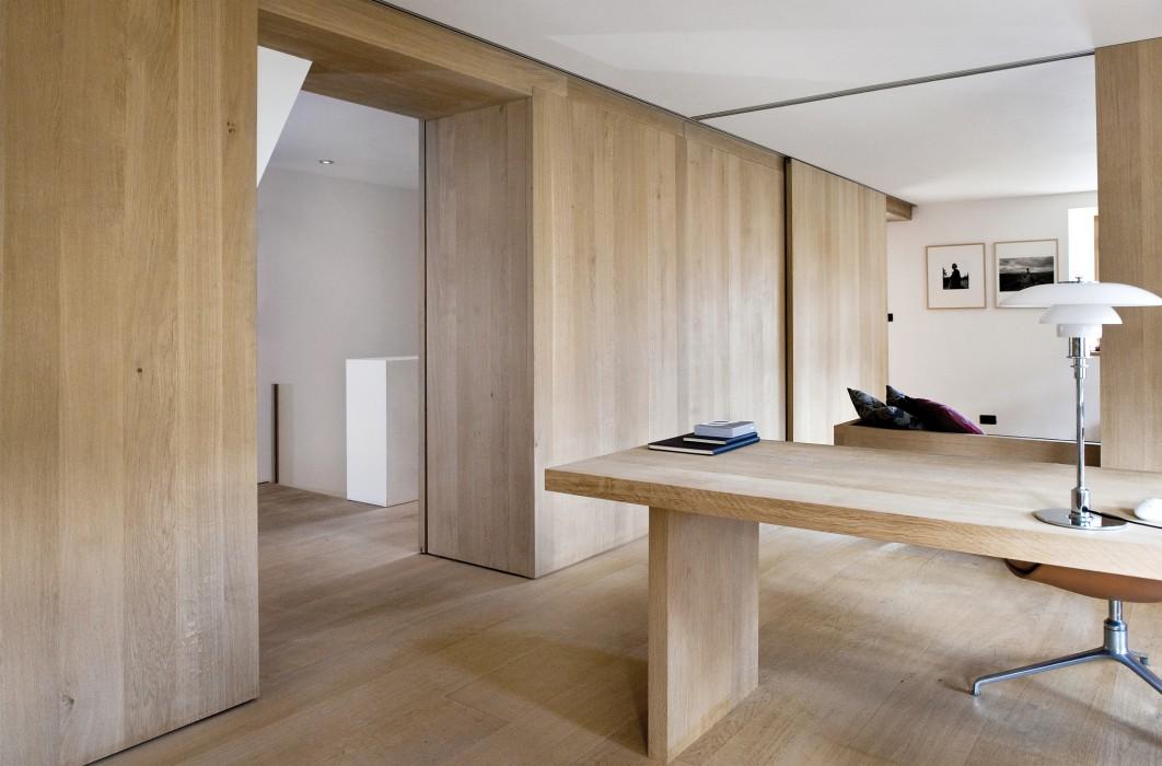 1900x220mm Wide White Oak Engineered Interior Wall