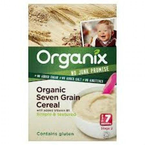 Organix Organic Seven Grain Cereal 7mth+ (200g x 4)