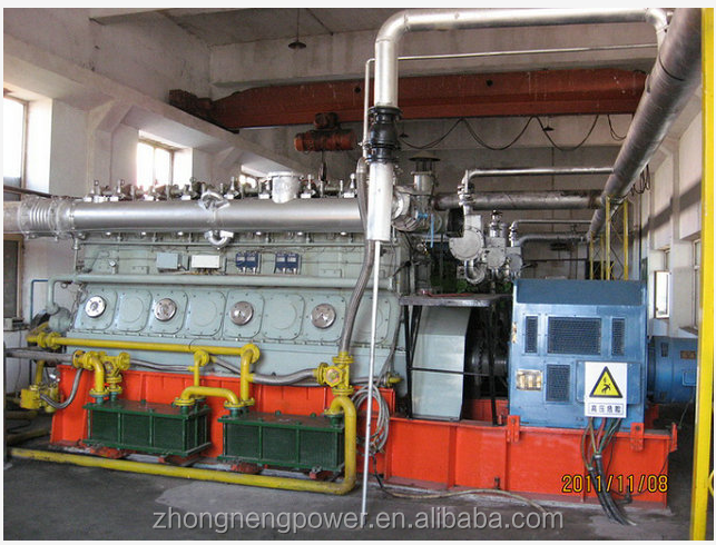 wood chips/rice husk biomass gasification power plant