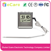 Digital Meat Thermometer IC016 with Timer Alarm Functions, Kitchen Probe Thermometer for Oven, Grill and BBQ
