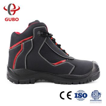low price high quality free sample pu injection sole safety light weight steel toe shoes