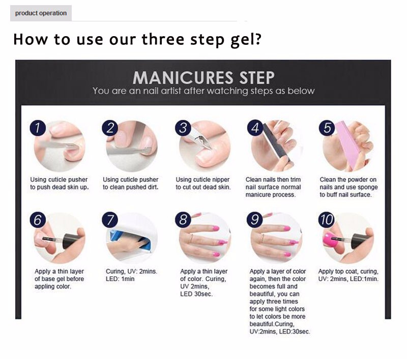 Mixcoco Soak Off Uv Gel Polish Gel Nails Polish For Beauty - Buy Uv ...