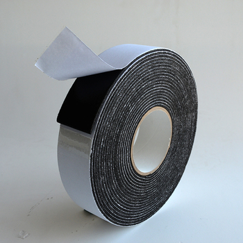 Doors Window air conditioning insulation tape Self Adhesive Rubber Foam Tape