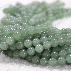 Bulk wholesale loose gemstone,8mm green aventurine stone beads