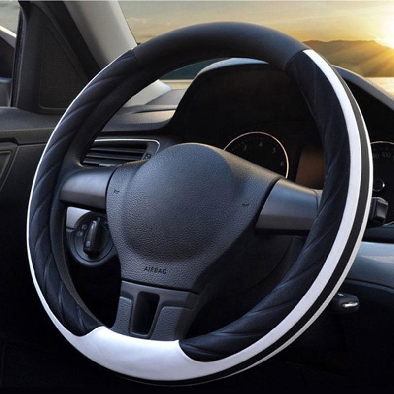 Высококачественный 38 см термоусадочный чехол на руль автомобиля