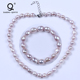Real Mother Of Pearl Necklace Price,Big Freshwater Pearl Necklace Set