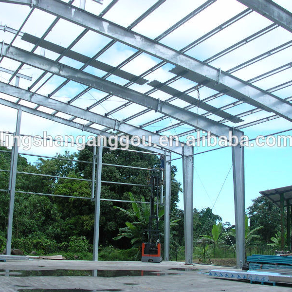 China factory prefabricated hall and steel and panel industrial halls
