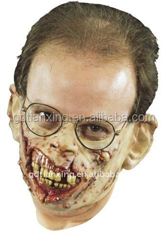 distortion faces masks rubber /Halloween party Latex animal head Mask