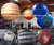 2019 Hot sale giant inflatable planet for decoration, large led inflatable hanging planets