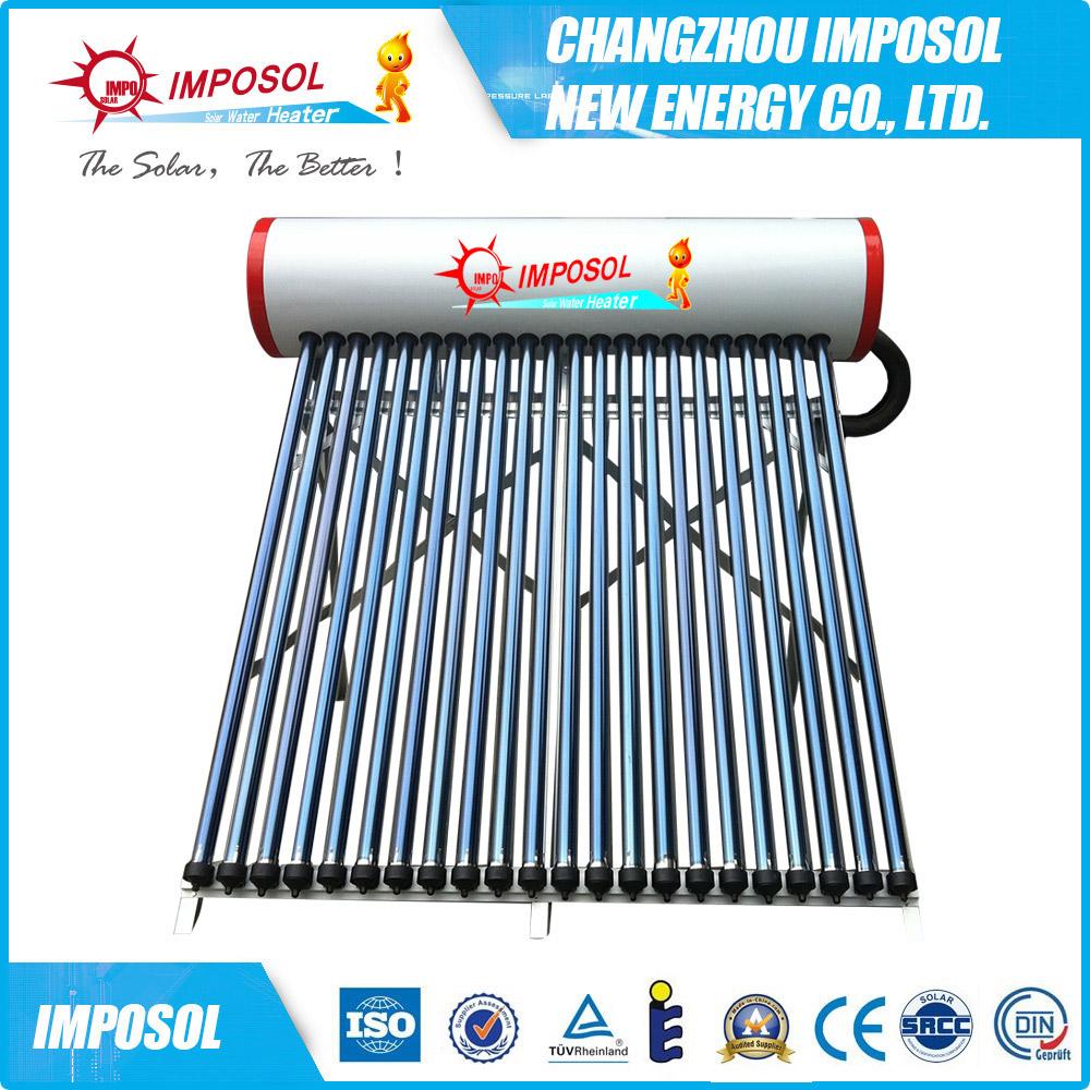Rooftop Solar Water Heater 200 Liter,Pressurized Solar Water Heater ...