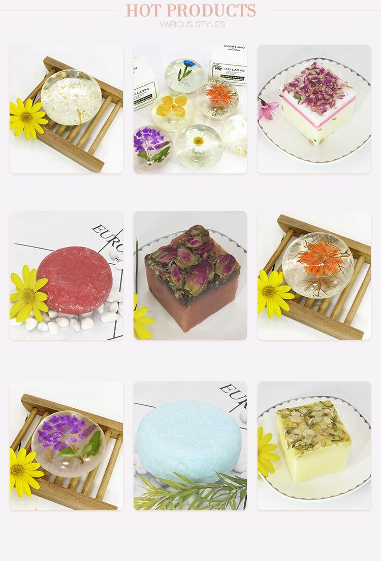 100% Natural Hand Made Soap Skin Moisturizing and Whitening Amino Acid Soap  Bath Soap for Private label