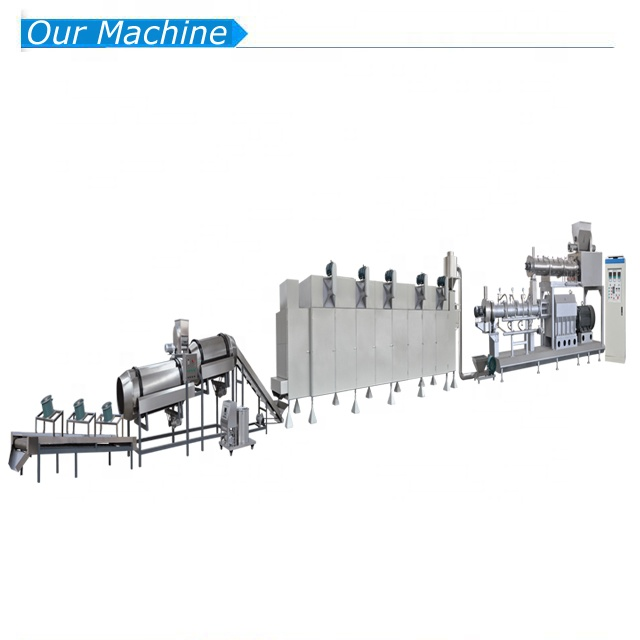 factory supply floating animal fish food feed making extruder machine