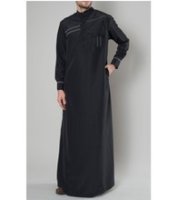 Moslim Thobe Islamitische Abaya Kleding <span class=keywords><strong>voor</strong></span> <span class=keywords><strong>mannen</strong></span> Lange kaftan Abaya <span class=keywords><strong>Mannen</strong></span>