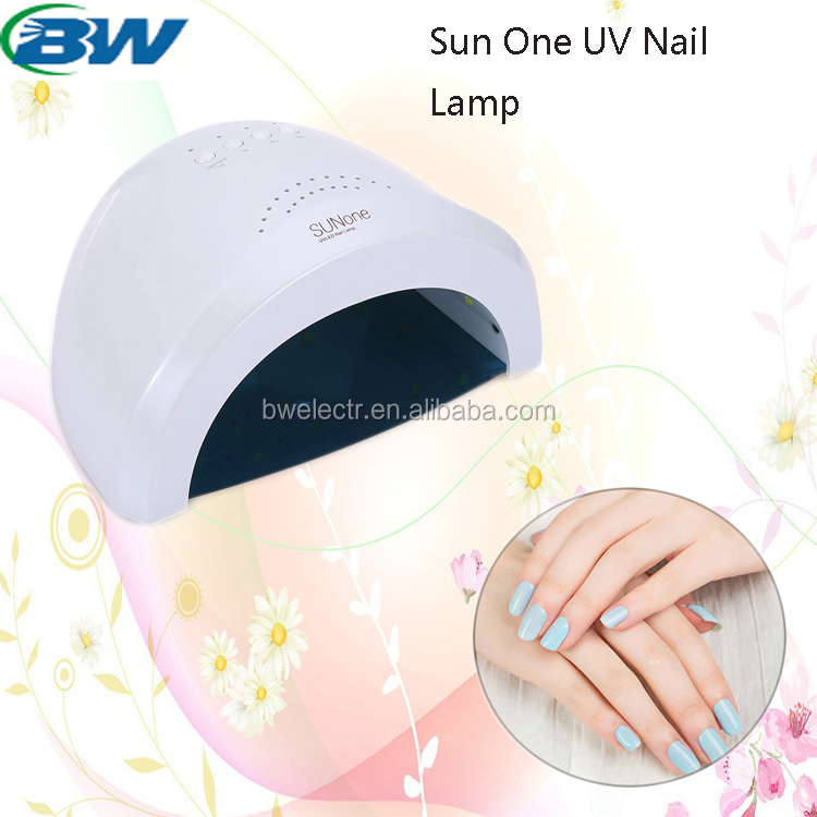 Make your own brand 36watt Rechargeable nail uv lamp with 3 timers