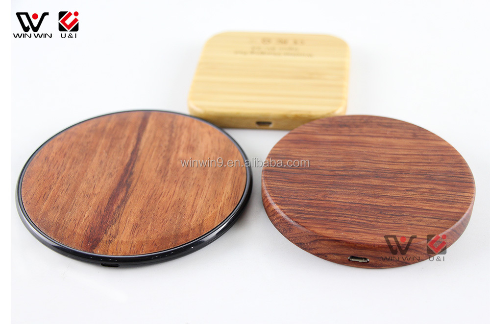 Regular Wood OEM Design Wireless Charger with Stand Wood Dock Charging For iPhone 8Plus X