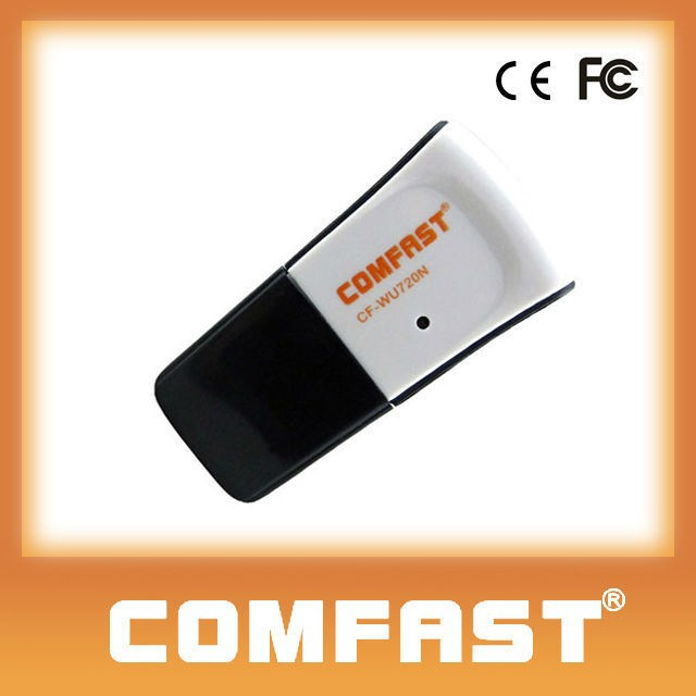 New wireless adapters COMFAST CF-WU720N external antenna android usb wifi dongle