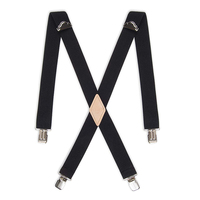 fashion men sock fashion black color suspenders